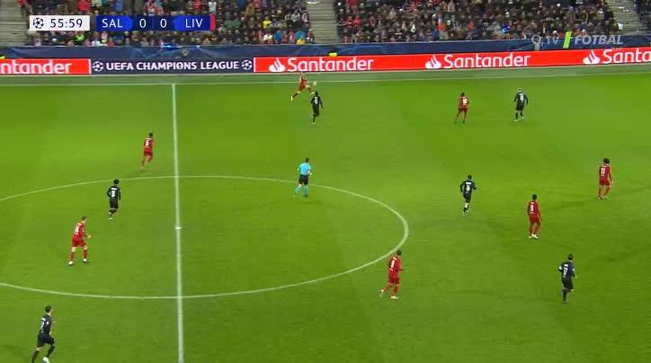 هدف أول ل ليفربول (نابي كيتا)