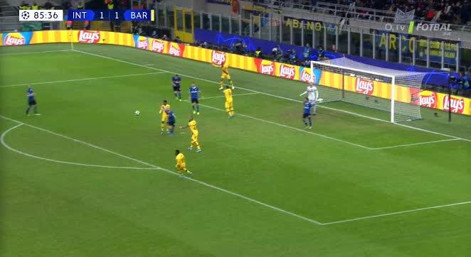 هدف ثاني ل برشلونة (أنسو فاتي)