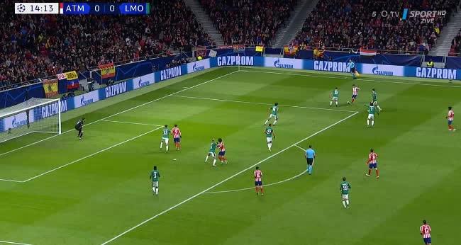 هدف أول ل أتليتكو مدريد (جواو فيليكس)