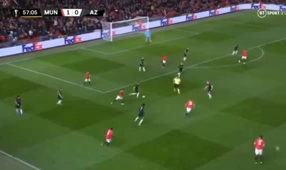 هدف ثاني ل مانشستر يونايتد (ميسون جرينوود)