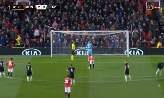 هدف ثالث ل مانشستر يونايتد (خوان ماتا)