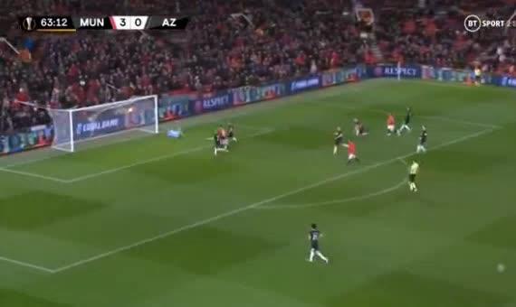 هدف رابع ل مانشستر يونايتد (ميسون جرينوود)