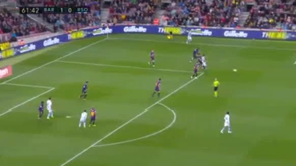 هدف أول ل ريال سوسيداد (جوانمي)