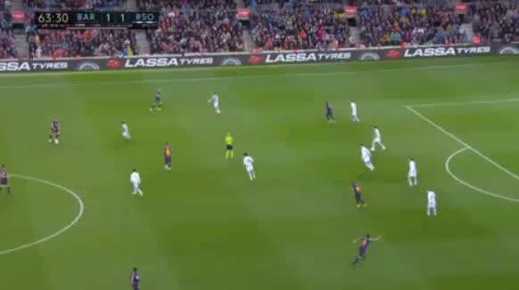 هدف ثاني ل برشلونة (خوردي ألبا)