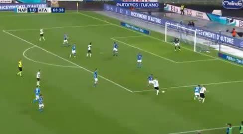 هدف أول ل أتالانتا (دوفان زاباتا)