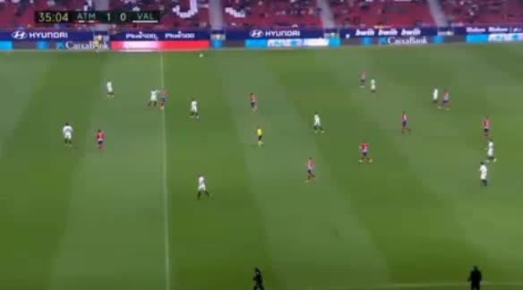 هدف أول ل فالنسيا (كيفين غاميرو)