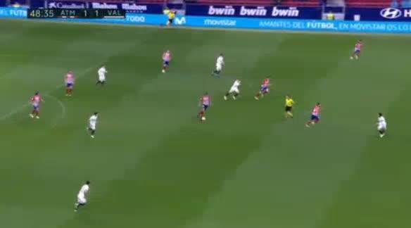 هدف ثاني ل أتليتكو مدريد (أنطوان غريزمان)
