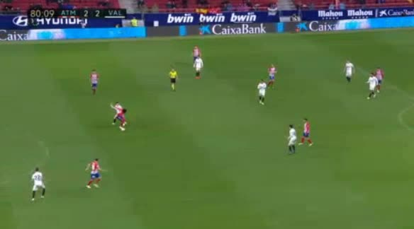 هدف ثالث ل أتليتكو مدريد (أنجيل كوريا)