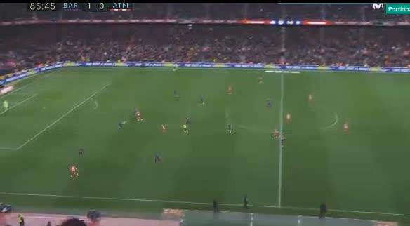 هدف ثاني ل برشلونة (ليونيل ميسي)