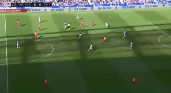 هدف أول ل ريال مدريد (إبراهيم دياز)