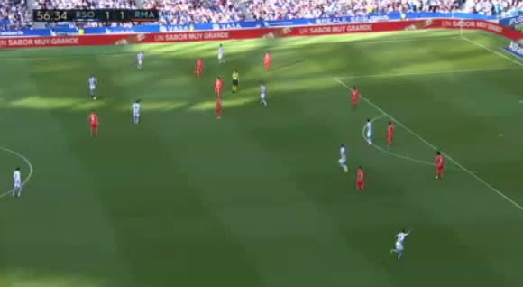 هدف ثاني ل ريال سوسيداد (خوسيبا زالدوا)