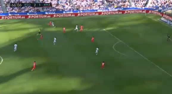 هدف ثالث ل ريال سوسيداد (أندير بارينيتكسيا)