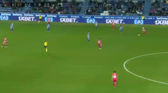 هدف ثاني ل ديبورتيفو ألافيس (جوناتان كالري)