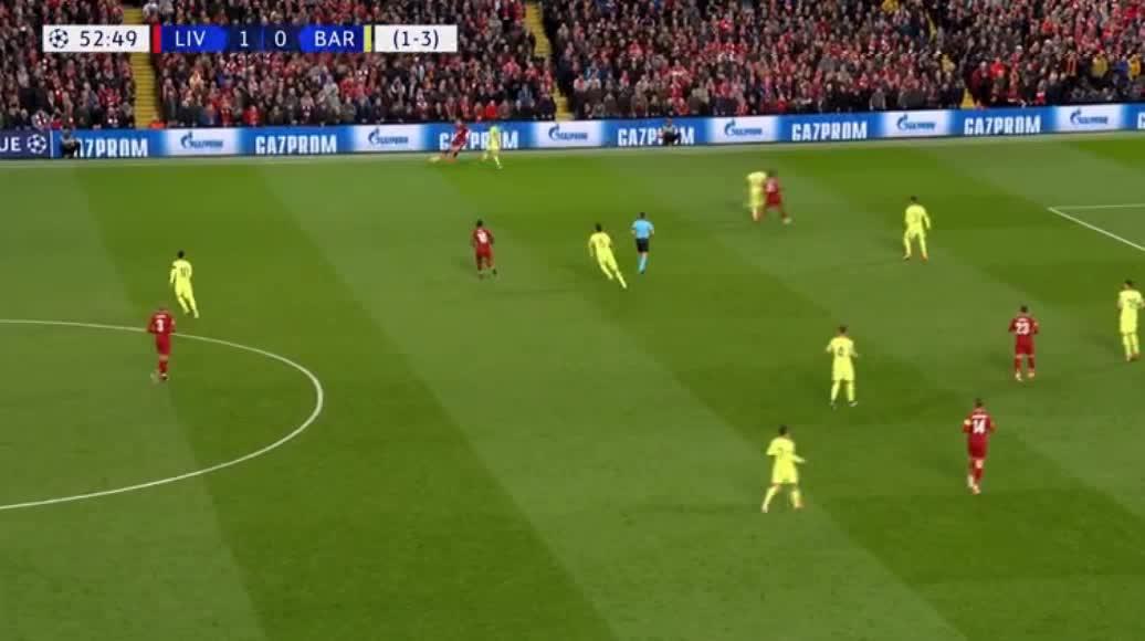 هدف ثاني ل ليفربول (جيورجينهو ويجنالدوم)