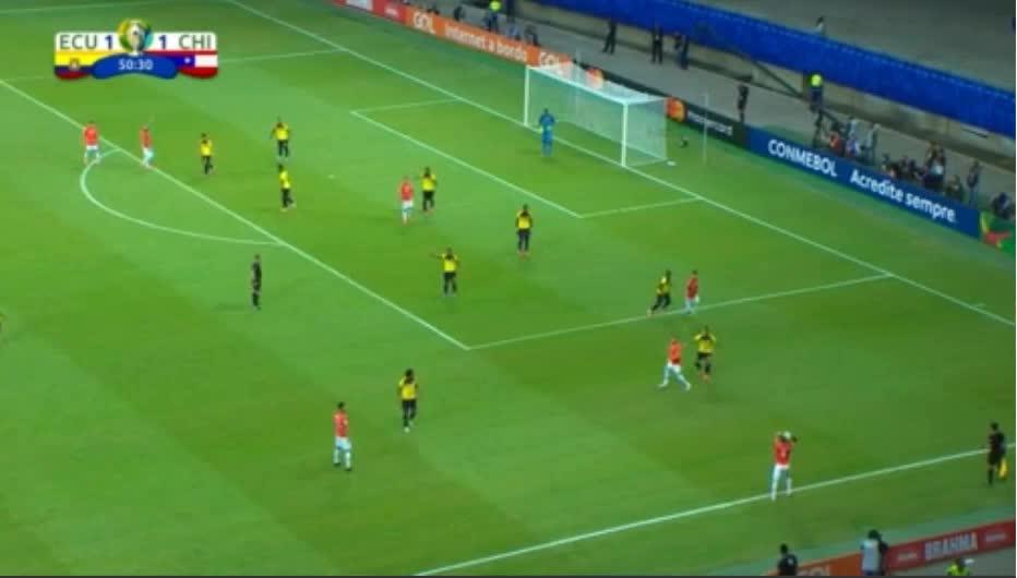 هدف ثاني ل تشيلي (ألكسيس سانتشيز)
