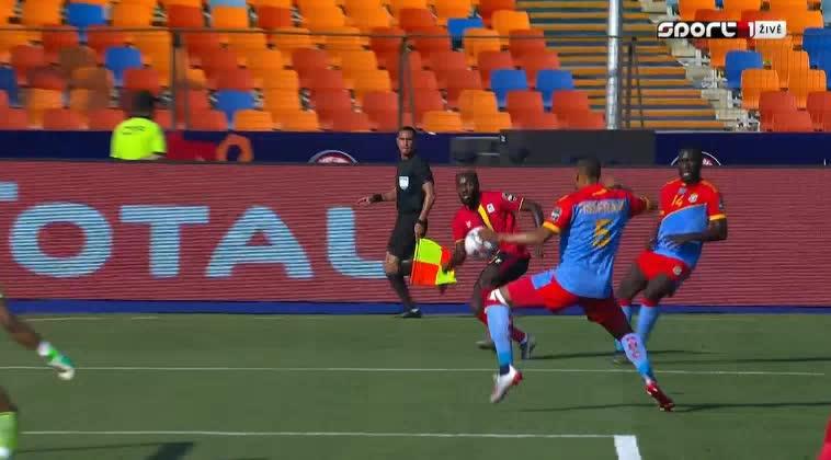 هدف أول ل أوغندا (باتريك كادو)