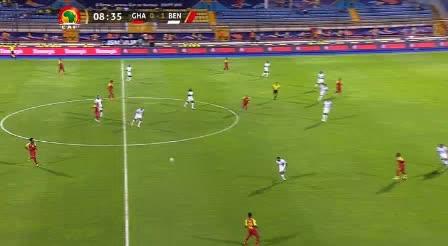 هدف أول ل غانا (أندري أيو)