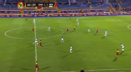 هدف ثاني ل غانا (جوردان أيوو)
