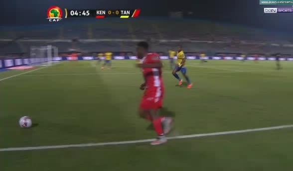 هدف أول ل تنزانيا (سيمون مسوفا)