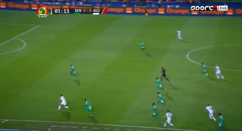 هدف أول ل الجزائر (بغداد بو نجاح)