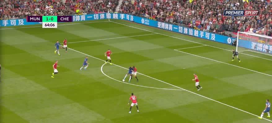 هدف ثاني ل مانشستر يونايتد (أنتوني مارتيال)