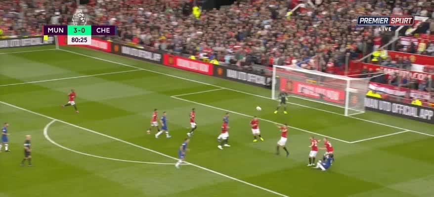 هدف رابع ل مانشستر يونايتد (D. James)