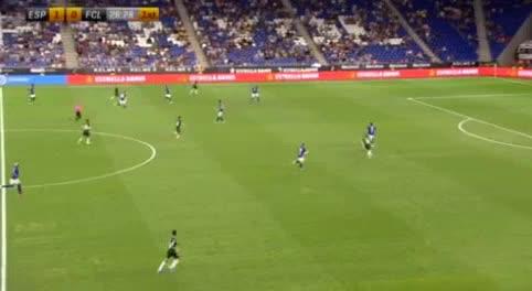 هدف ثاني ل إسبانيول (فيكتور كامبيوزانو)