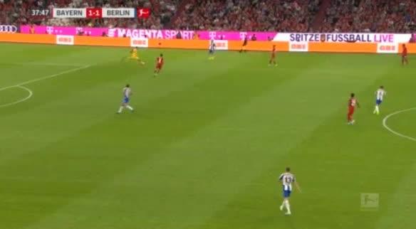 هدف ثاني ل هرتا برلين (ماركو جروجيتش)