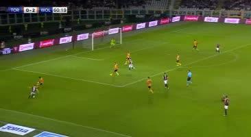 هدف أول ل تورينو (لورينزو دي سيلفستري)