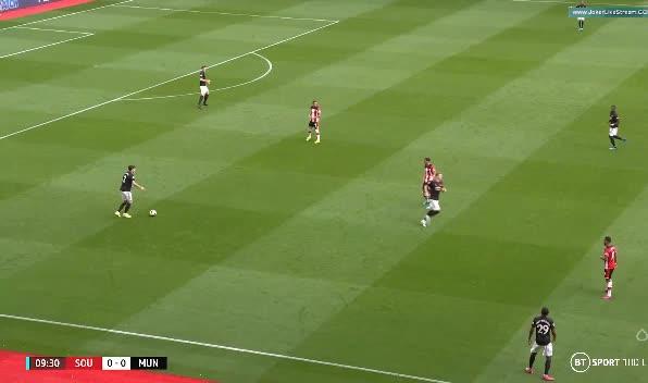 هدف أول ل مانشستر يونايتد (دانييل جيمس)