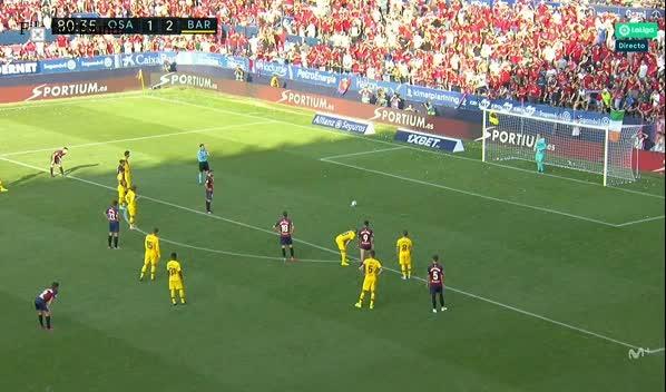 هدف ثاني ل أوساسونا (روبيرتو توريس)
