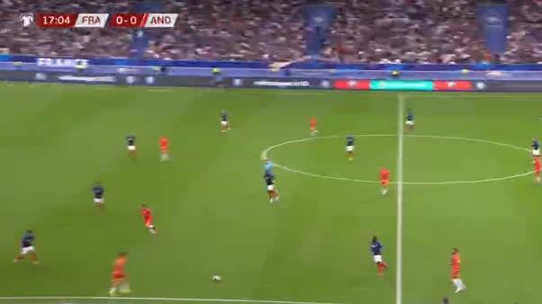هدف أول ل فرنسا (كينغسلي كومان)