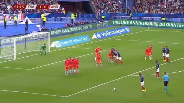 هدف ثاني ل فرنسا (كليمنت لينجليت)