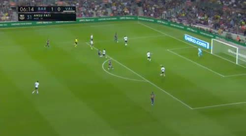 هدف ثاني ل برشلونة (فرينكي دي جونج)