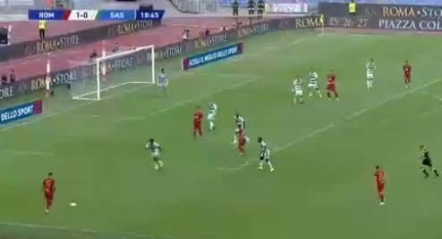 هدف ثاني ل روما (إيدين دجيكو)