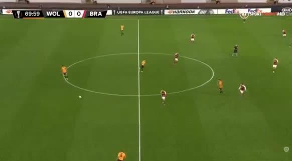 هدف أول ل سبورتينغ براغا (ريكاردو هورتا)