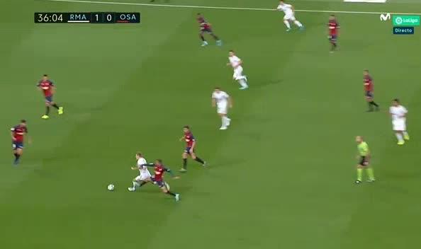 هدف أول ل ريال مدريد (فينيسيوس جونيور)