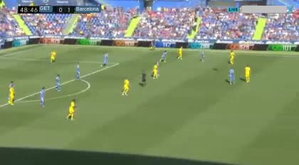 هدف ثاني ل برشلونة (جونيور فيربو)
