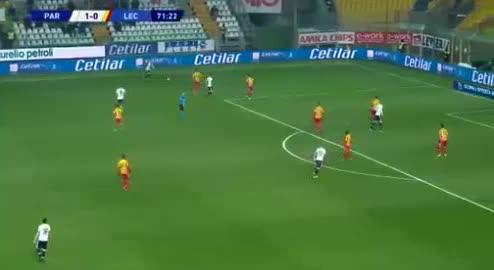 هدف ثاني ل بارما (أندرياس كورنيليوس)