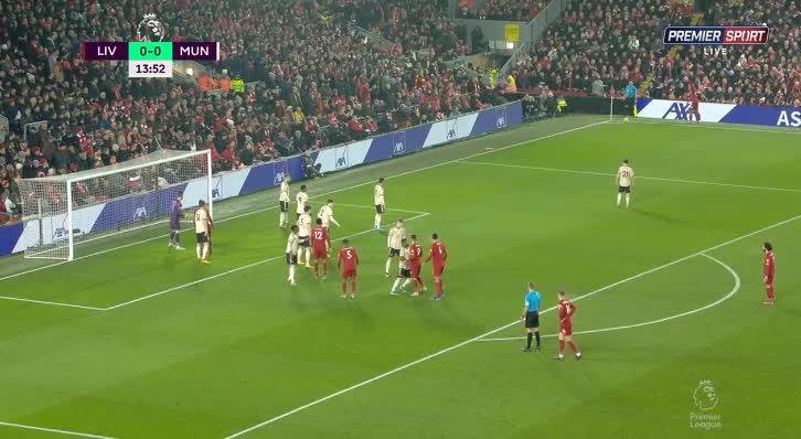هدف أول ل ليفربول (فيرجيل فان دايك)