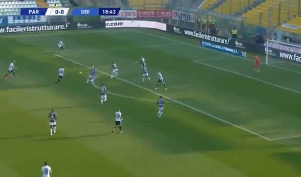 هدف أول ل بارما (ريكاردو جاجليولو)