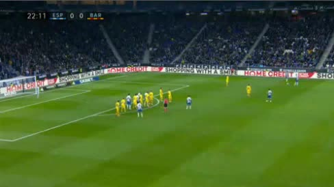 هدف أول ل إسبانيول (دافيد لوبيز)