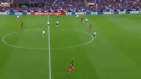 هدف ثاني ل أتليتكو مدريد (توماس بارتي)