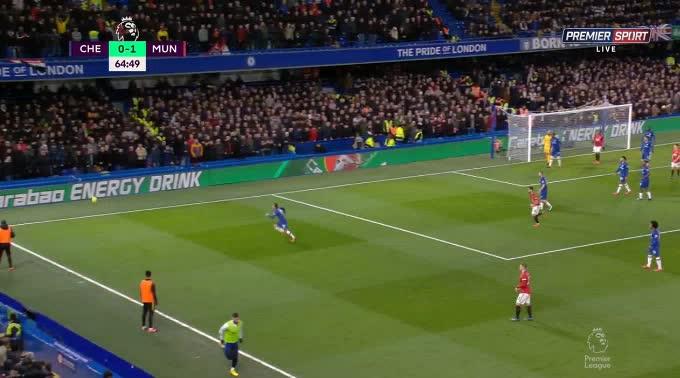 هدف ثاني ل مانشستر يونايتد (هاري ماجواير)