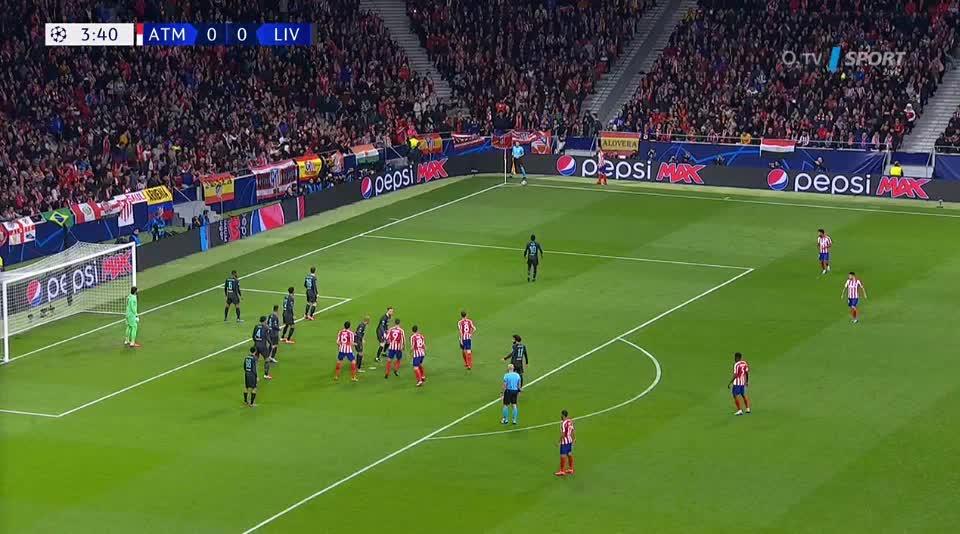هدف أول ل أتليتكو مدريد (ساؤول)