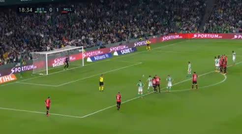هدف أول ل ريال بيتيس (كاناليس)