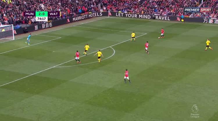 هدف ثالث ل مانشستر يونايتد (ميسون جرينوود)