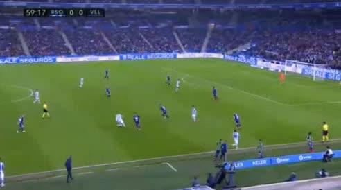 هدف أول ل ريال سوسيداد (عدنان يانوزاي)