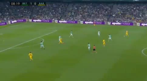 هدف أول ل برشلونة (فرينكي دي يونج)