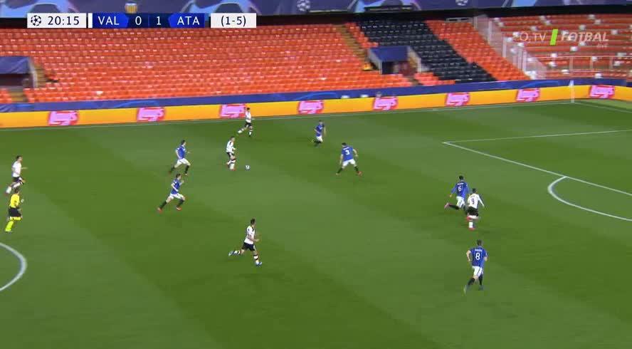 هدف أول ل فالنسيا (كيفن جاميرو)